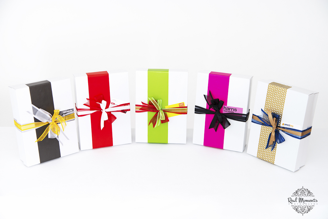 A corporate photo of boxsalicious gift products
