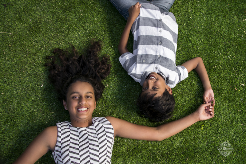 A children photography photo of the Mahadavan kids taken in Adelaide