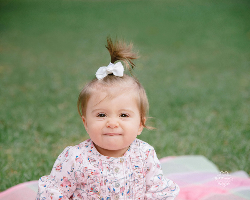 Adelaide professional family photography - smiling baby