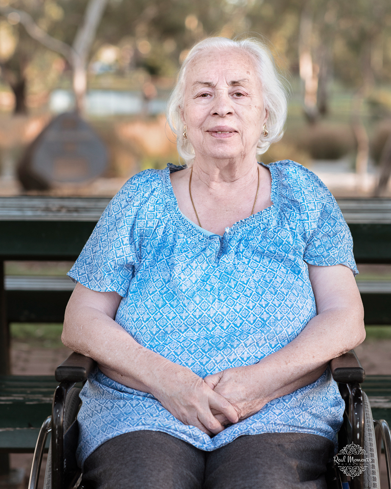 Adelaide portrait photographer - photo of an old woman