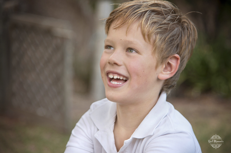 Adelaide family professional photography - smiling boy