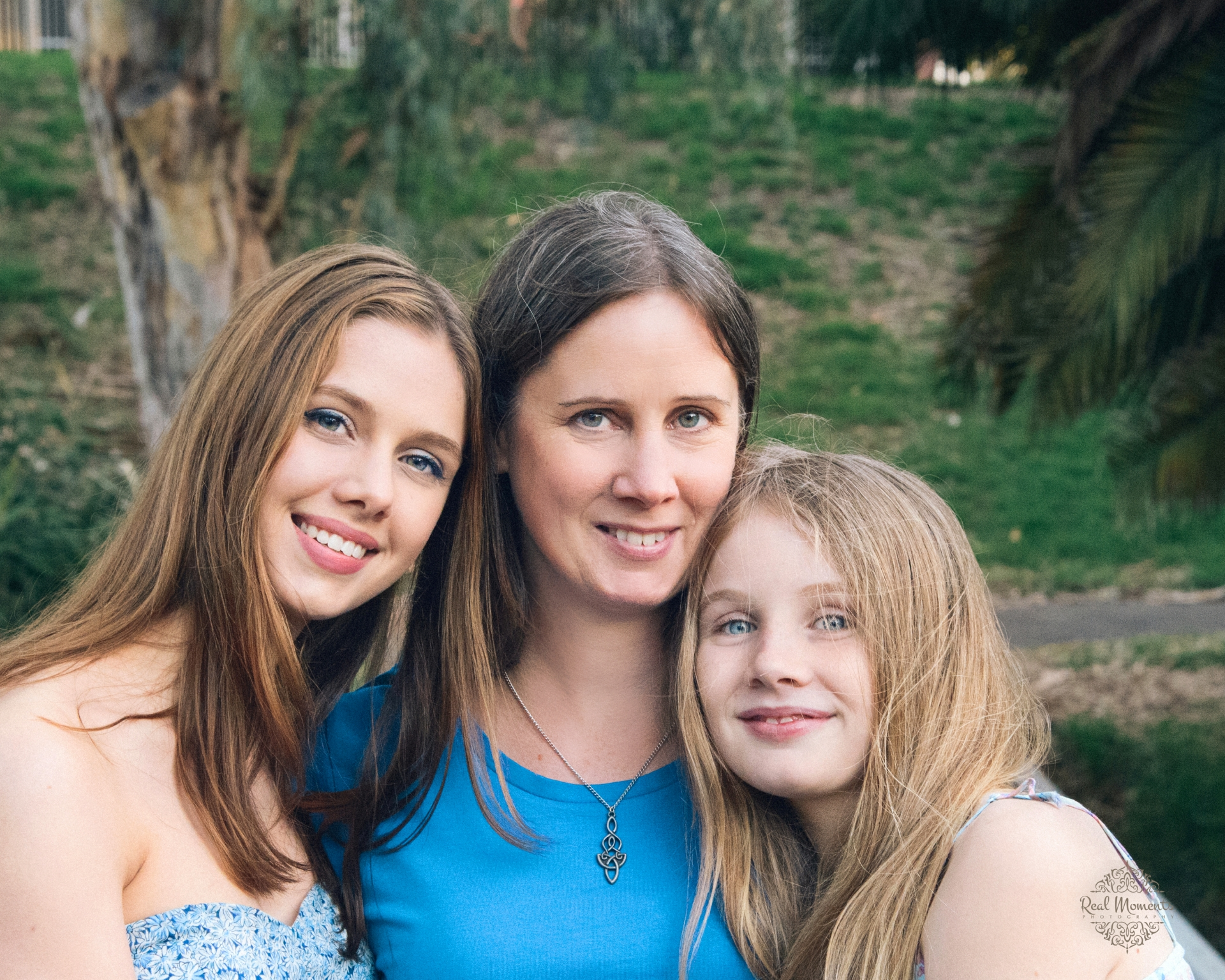 Interior wall art - family photography portrait Adelaide - mother and daughters