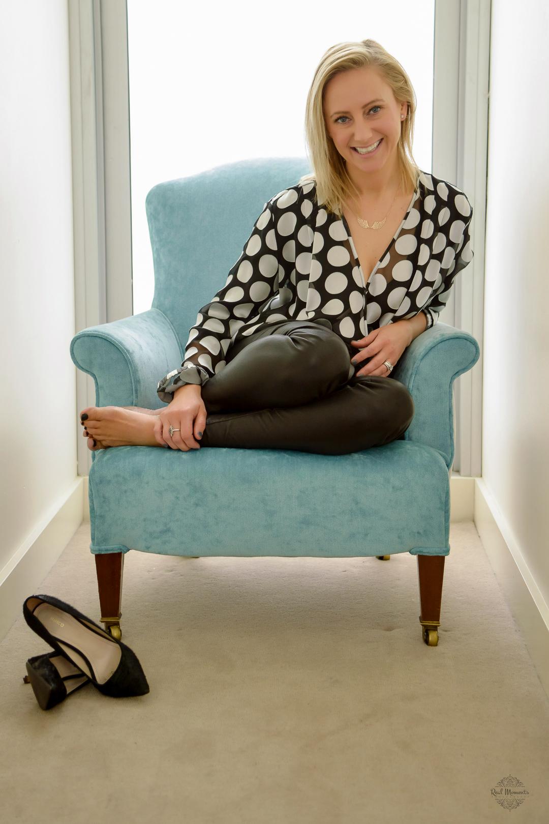 A corporate photography portrait of Sarah Irwin of Jeunesse