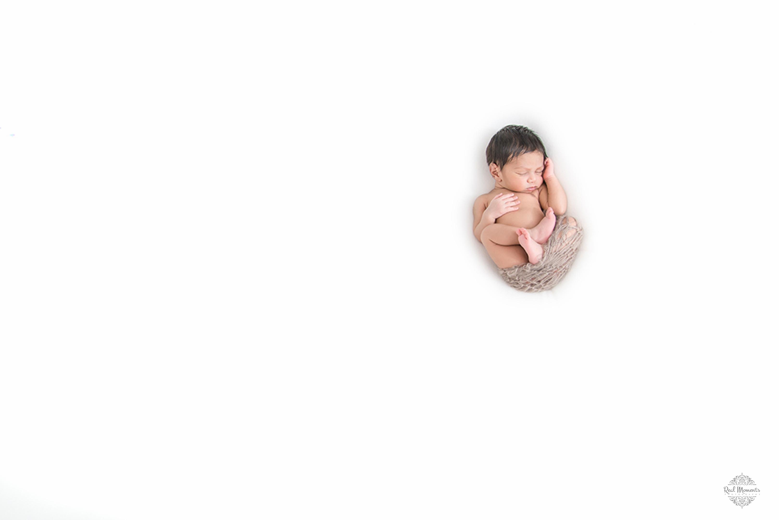 childrenphotography - Newborn portrait of Baby Achu