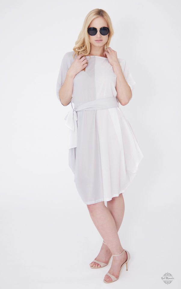 Business branding photography - A woman wearing Suchi's Couture white dress