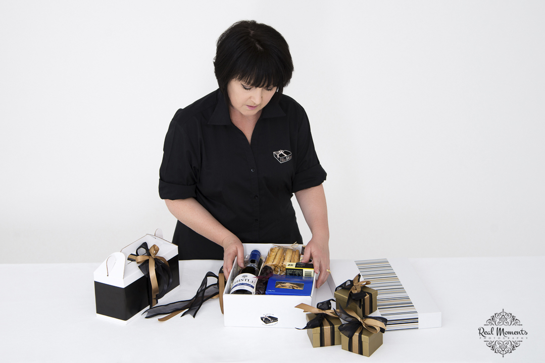 Women in business photography: corporate portrait photo of boxsalicious' owner