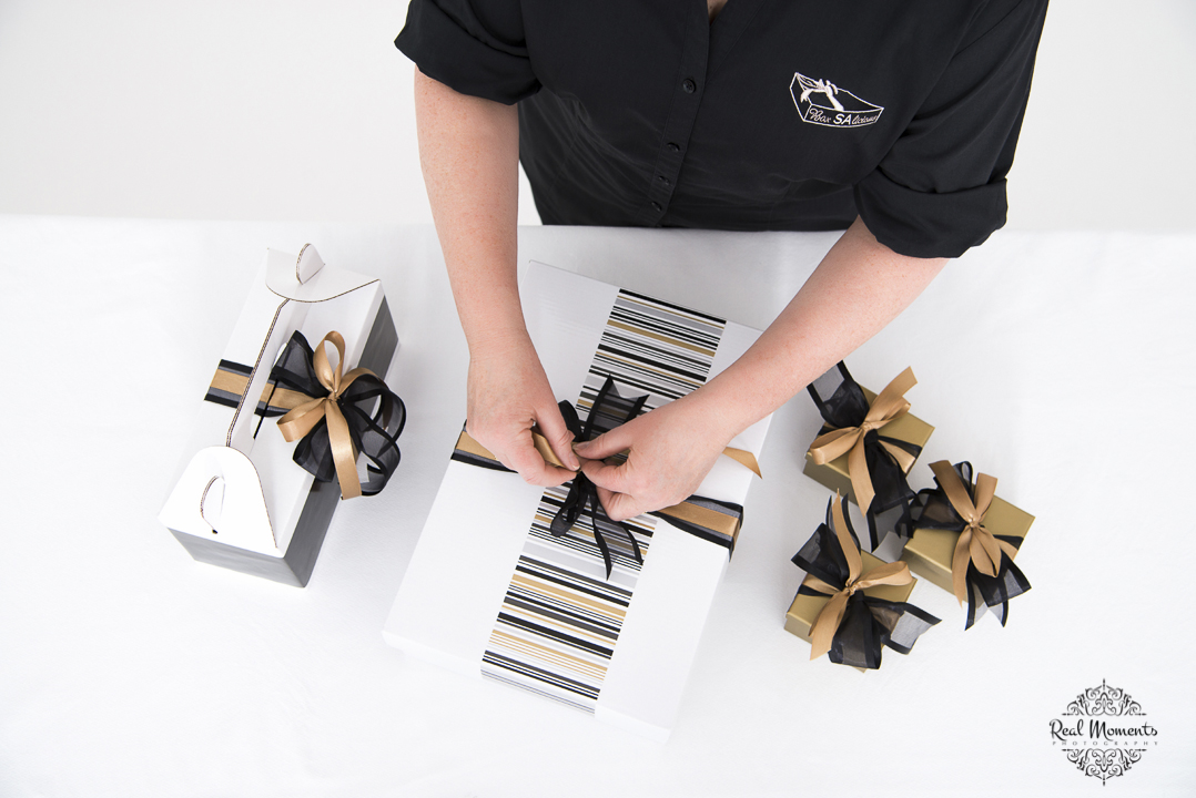 Women in business photography: boxsalicious products being prepared
