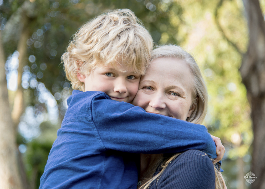 Adelaide family photography: mother and son