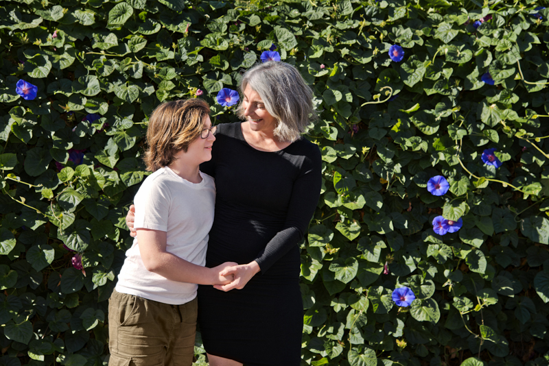 Mother and son - family photography