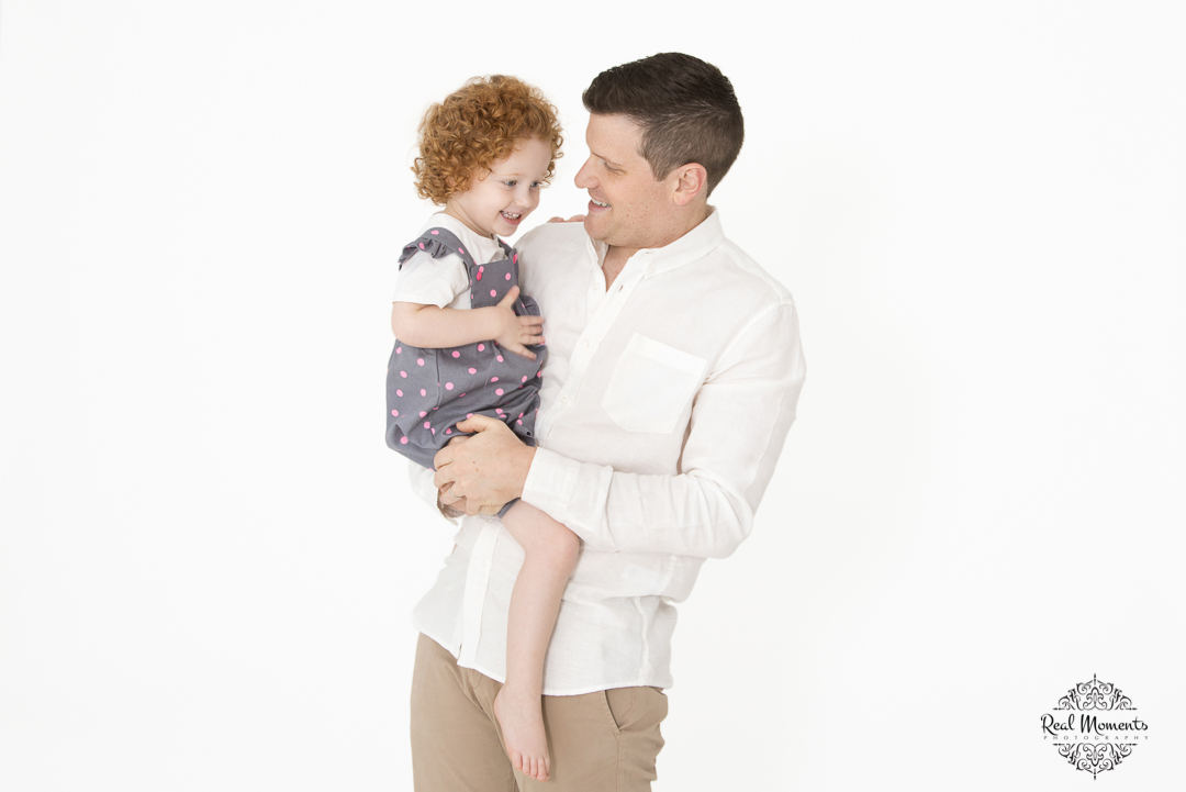 Adelaide portrait photography - a father and his daughter