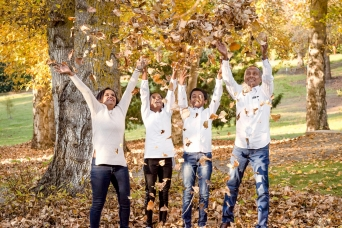 wall art ready family photography - autumn